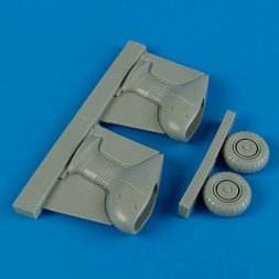 Ju 87G correct spatted undercarriage for Academy 1:72
