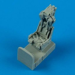F-8 Crusader ejection seat with safety belts 1:72