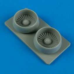 A-10A correct fan blades for Hobby Boss 1:72