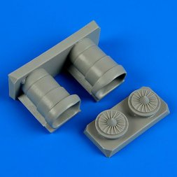 F/A-18A/C Hornet air intakes for Hasegawa 1:72