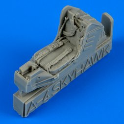 A-4 Skyhawk ejection seat with safety belts 1:72