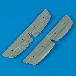 Mosquito undercarriage covers 1:48