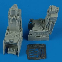F-15E ejection seats with safety belts 1:48