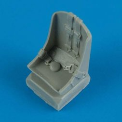 Quickboost P-47D/M/N Thunderbolt seat with seatbelts 1:48