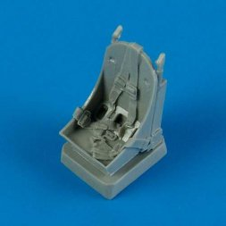 P-39 Airacobra seat with seatbelts 1:48