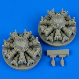 A-20 Havoc engines 1:48