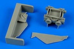 Aerobonus US NAVY torpedo loading cart 1:48