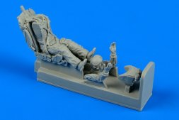 Soviet MiG-21 pilot in ejection seat 1:48