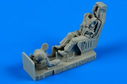 US Navy A-4 fighter pilot with ejection seats 1:48