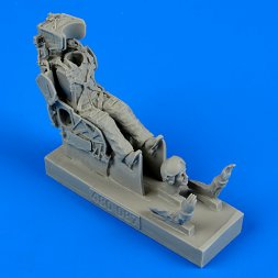 Soviet pilot with KS-4 ejection seat 1:48