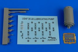 35Lb. lubricating bucket pump USAF 1:32