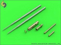 Master MiG-17A/P/F gun barrels set & Pitot Tubes 1:32
