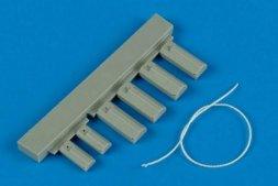 Wheelliant U.S.A.F. wheel chock with nylon thread 1:48