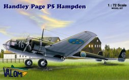 Handley Page P5 Hampden 1:72