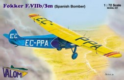 Fokker F.VIIb/3m (Spanish Bomber) 1:72