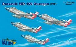 Dassault MD 450 Ouragan (PAF) 1:72