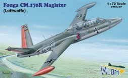 Fouga CM.170R Magister (Luftwaffe) 1:72