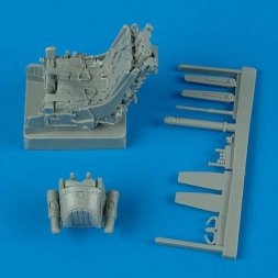 MiG-29 ejection seat with safety belts 1:32