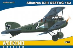 Eduard Albatros D.III OEFFAG 153 - Weekend edition 1:48