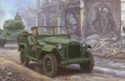 GAZ-67B Soviet Military Vehickles 1:35