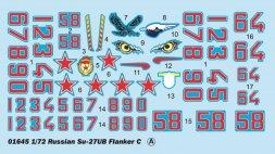 Su-27UB Flanker C 1:72