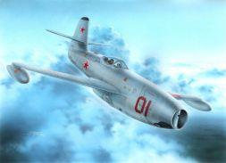 Yakovlev Yak-23 Red & White Stars 1:72