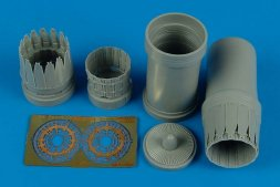 F-15C/D Eagle exhaust nozzles for Hasegawa 1:72