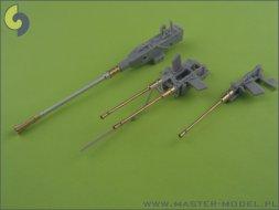 Master Schnellboot Typ S-100 armament gun barrels 1:35