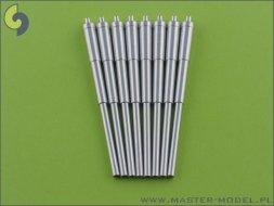 Master German 38cm (15in) SKC/34 barrels (8pcs) 1:350