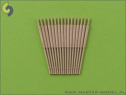 Master German 10,5cm (4.1in) SKC/33 barrels - early type 1:350