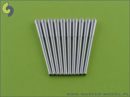 Master British 14in (356mm) Mark VII barrels (10pcs) 1:350