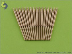 Master British 5,25in (133mm) QF Mark I barrels (16pcs) 1:350