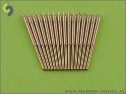Master British 5,25in (133mm) QF Mark I barrels (16pcs) 1:350