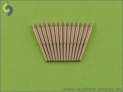 Master British 4in/45 (10.2 cm) QF HA Marks XVI  barrels 1:350