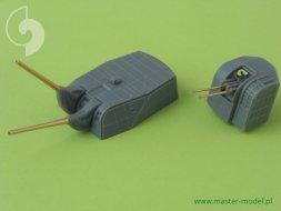 IJN Mogami (1942) armament - 20cm (6pcs), 12,7cm (8pcs) 1:350