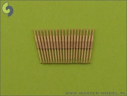 Master British 4in/45 (10.2 cm) QF HA Marks XVI  barrels 1:400