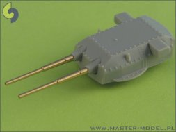 Master German 38cm (15in) SKC/34 barrels (8pcs) 1:700