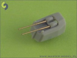 Master German 10,5cm (4.1in) SKC/33 barrels - late 1:700