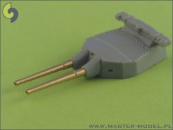 Master British 15in/42 (38.1cm) Mark I - with blastbags 1:700