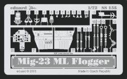 MiG-23ML Flogger for Zvezda/ Italeri - Zoom 1:72
