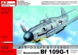 Messerschmitt Bf 109G-1 The first Gustav 1:72