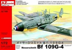 Messerschmitt Bf 109G-4 Gustav 4 1:72