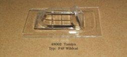 F4F Wildcat vacu canopy for Tamiya 1:48