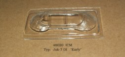 Yak-7DI Early vacu canopy for ICM 1:48