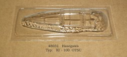 Ki-100 Otsu vacu canopy for Hasegawa 1:48