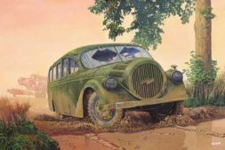 Opel Blitzbus Ludewig Aero (WWII service) 1:72
