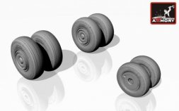Su-24 Fencer wheels (late) 1:72