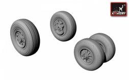 Armory F-35C Lightning-II wheels 1:72