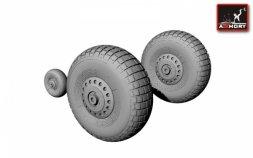Armory Handley-Page Halifax wheels 1:72