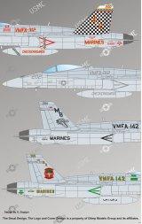 F/A-18C Hornet, VMFA-142, VMFA-312 1:72